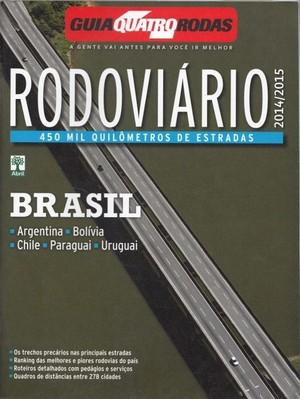 Brazilie Estradas Quatro Rodas Atlas