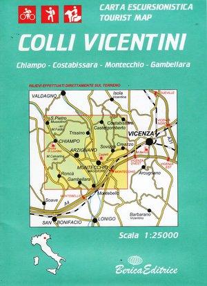 Colli Vicentini 1:25.000 Berica Editrice
