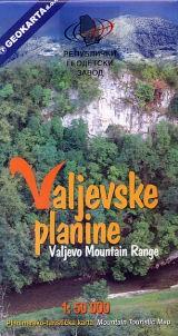 Valjevske Planine / Valjevo Mountain 1:50.000