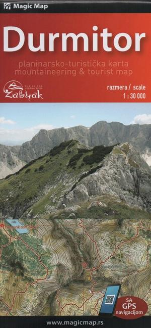 Durmitor 1:30.000/1:110.000 Magic Maps