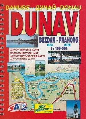 Dunav Donau 1:100d Bezdan-prahovo Servie