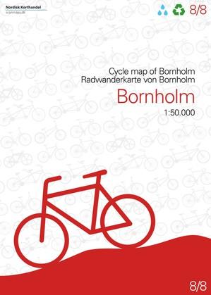 Bornholm - Denemarken fietskaart