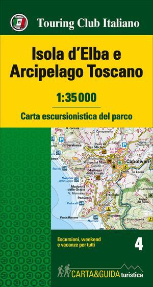 Isola d'Elba & Arcipelago Toscano kaart&gids