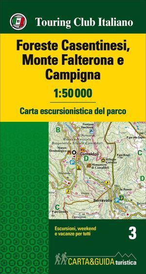 Foreste Casentinesi - Monte Falterona kaart&gids