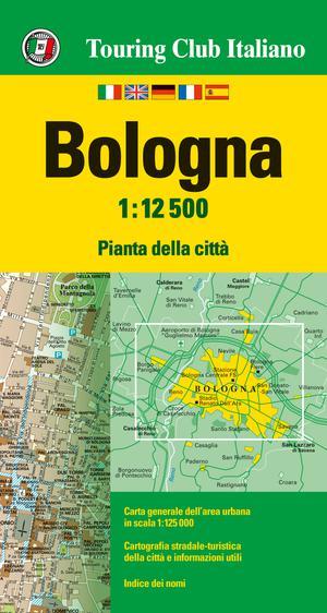 Bologna stadsplattegrond