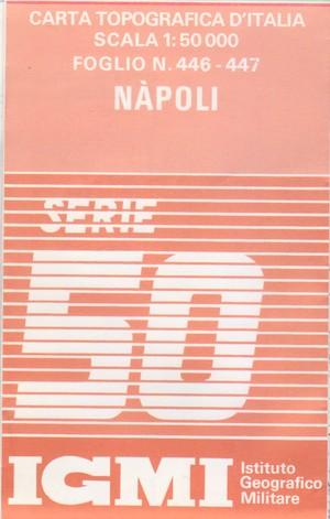 Igmi 446/447 Napoli 1:50.000