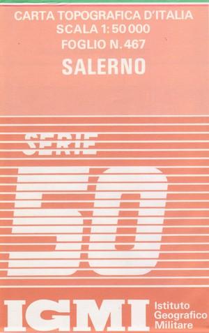 Igmi 467 Salerno 1:50.000