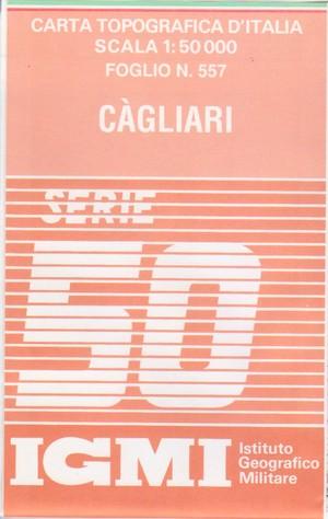 Igmi 557 Cagliari 1:50.000