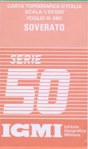 Igmi 580 Soverato 1:50.000