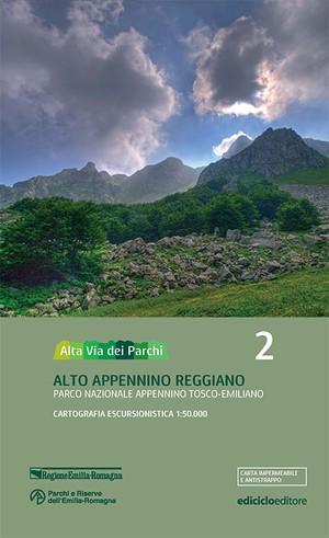 Alta Via Dei Parchi 2 1:50.000