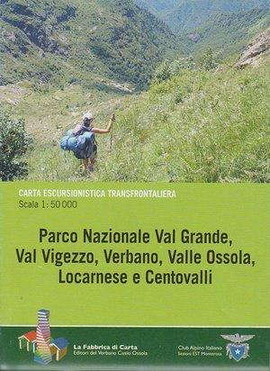 Val Grande Pn Val Vigezzo, Verbano 1:50.000