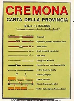 Cremona Lombardia) 1:150d