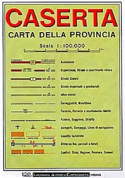 Caserta (campania) 1:100d Lac