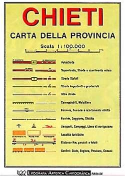 Chieti (abruzzo) 1:100d