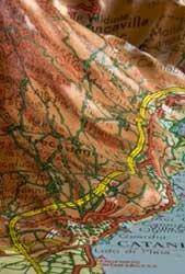 Sicilia Reliefkaart 1:350.000 Lac