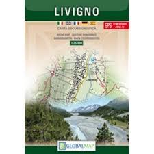 Livigno (lombardie) 1:25.000 Lac