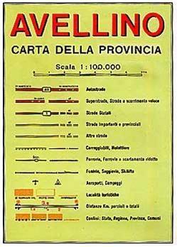 Avellino (campania) 1:100d Lac