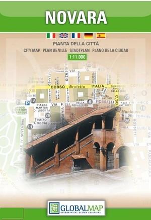 Novara Stadsplattegrond 1/11.000