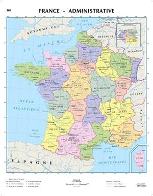 France Frankrijk 1:1,1 Lac Plano Frans