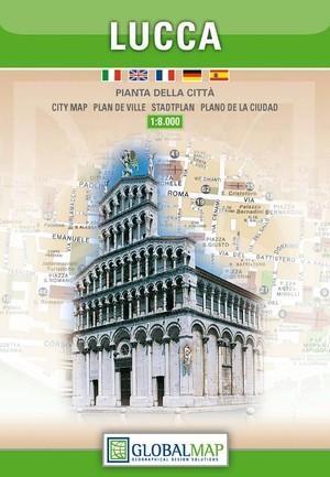Lucca Stadsplattegrond 1:8.000