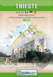 Trieste 1:10.000 stadsplattegrond