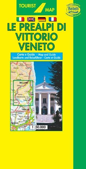 Prealpi Di Vittorio Veneto 1:50.000