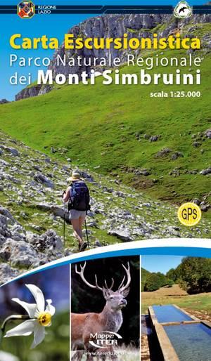 Parco Naturale Regionale Dei Monti Simbruini 1:25.000