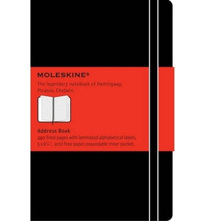 Moleskine Address-Book/Repertoire  Large