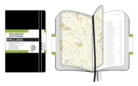 Milaan city notebook +map