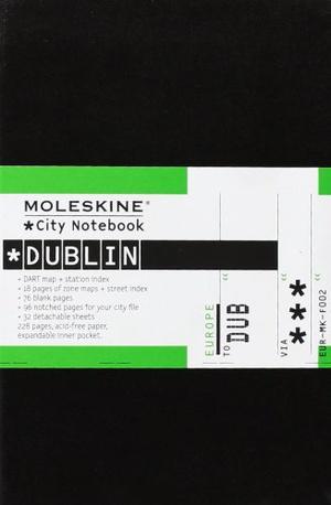 Dublin city notebook +map