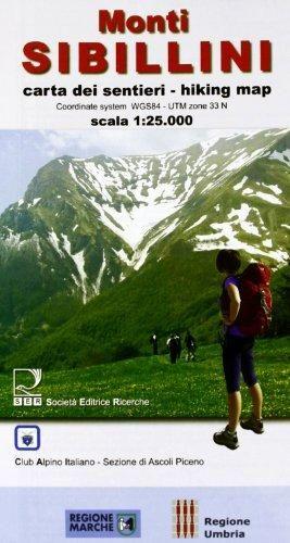 Monti Sibillini Np 1:25.000 Ser