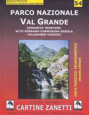 54 Val Grande/valgrande 1:30.000