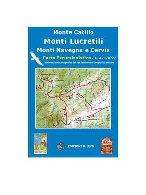 Monti Lucretili 1:25.000 Il Lupo 5