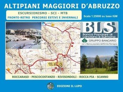 Altipiani Maggiori Abruzzo 1:25.000