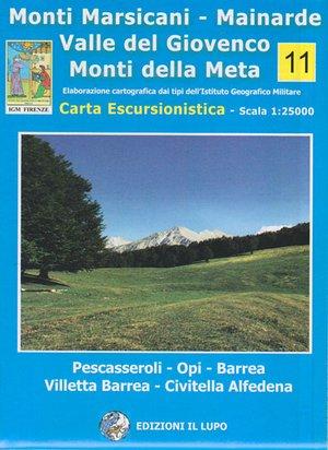 Monti Marsicani - Mainarde 1:25.000