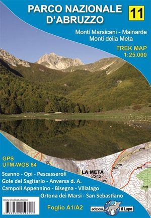 Il Lupo 11 - Parco Nazionale d'Abruzzo - Monti Marsicani, Mainarde - Valle del Giovenco e Monti della Meta