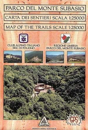 Parco Del Monte Subasio 1:25.000