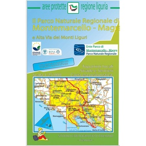 Parco Naturale Montemarcello - Magra 1:25.000