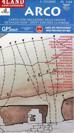 Arco (climbing-map) 1:10.000
