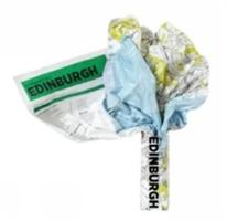 Edinburgh Crumpled City Map