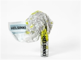Helsinki Crumpled City Map