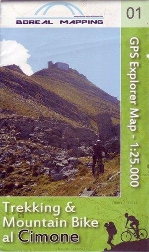 Cimone Trekking & Mountain Bike 1:25.000