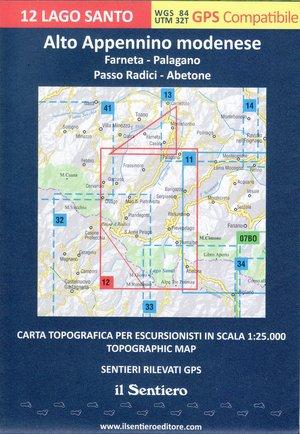 Alto Appenino Modenese 1:25.000