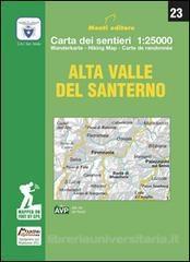 Alta Valle Del Santerno 1:25.000