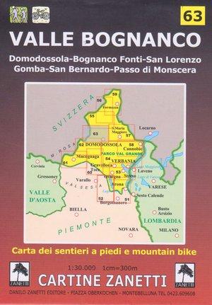 Valle Bognanco 1:30.000 (zanetti 63)