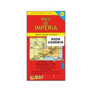 Valli Di Imperia 1:25.000