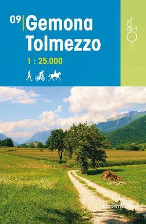 09 Gemona Tolmezzo 1:25.000