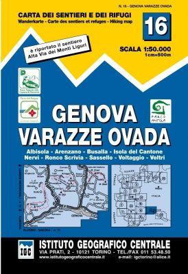 16 Genova.varazze Ovada 1:50.000