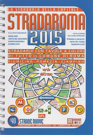 Stradaroma Lozzi A4 Formaat Stratenboek