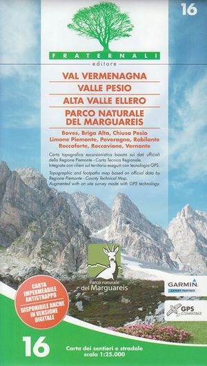 16 Val Vermenagna 1:25.000